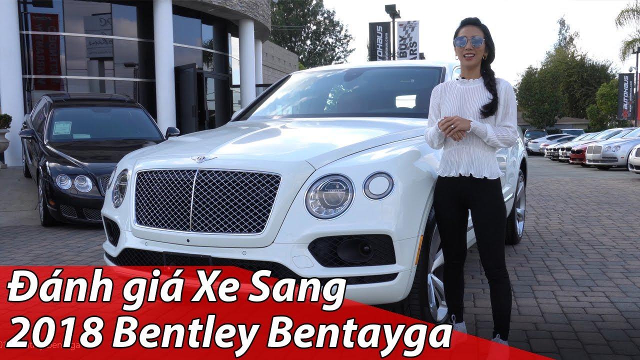 đánh giá xe siêu sang Bentley Bentayga