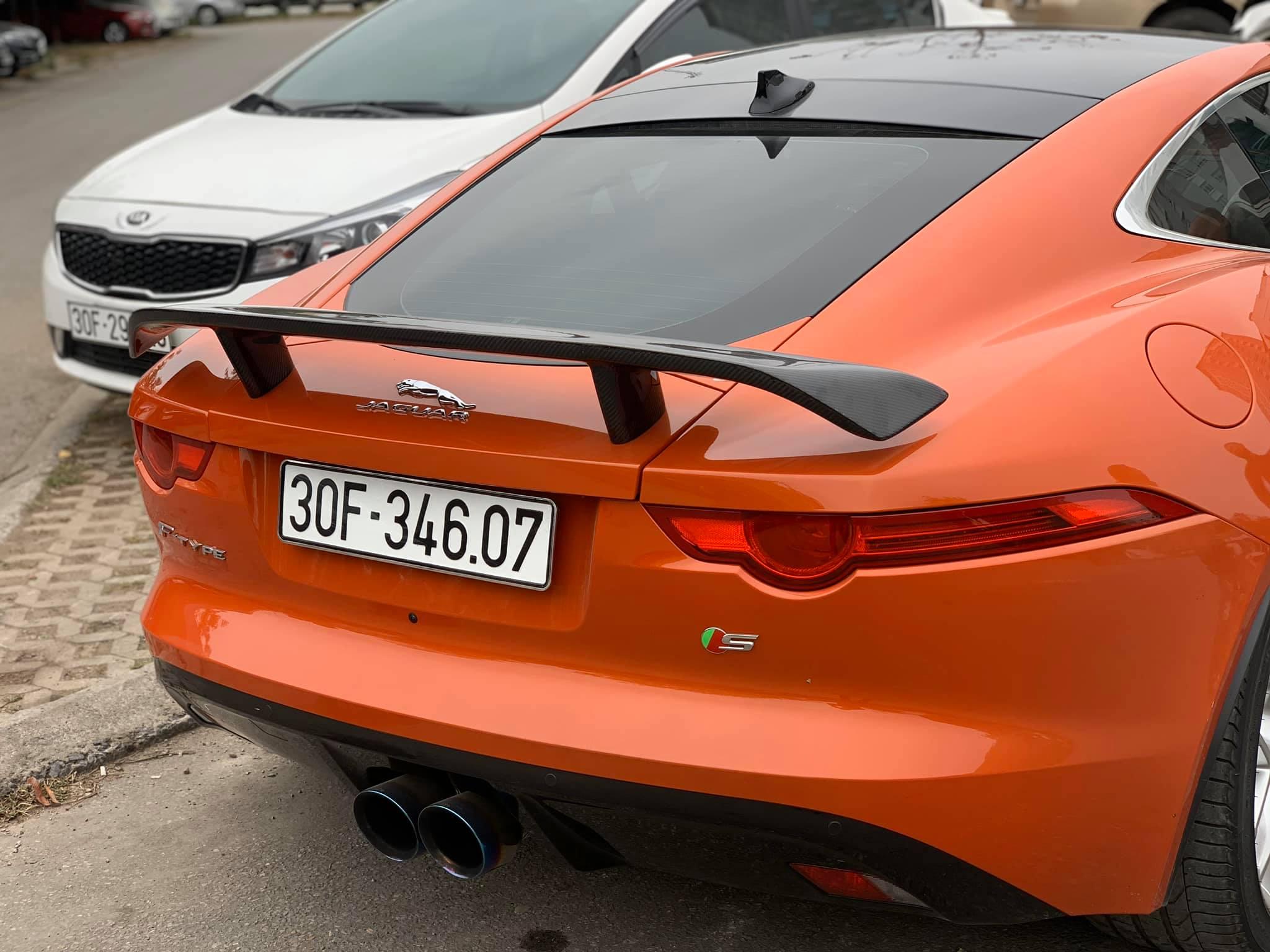 Siêu xe Jaguar F-type S 2016