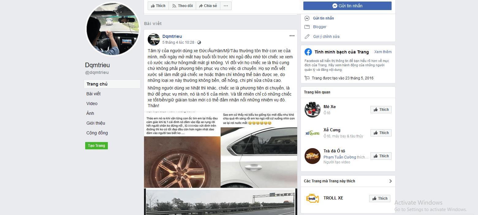 Dqmtrieu người mê siêu xe Toyota nhất