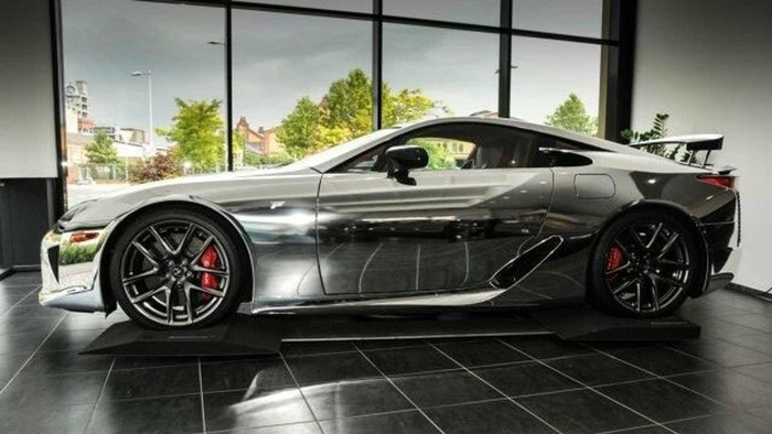 Siêu xe Lexus LFA đời mới