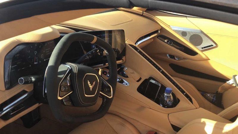 Siêu xe Mỹ Corvette C8 nội thất sieuxevietnam