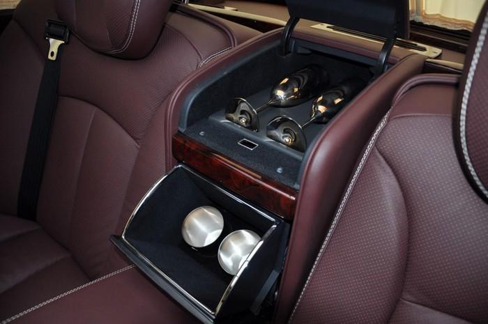 Xe Maybach S600 Pullman doanh nhân