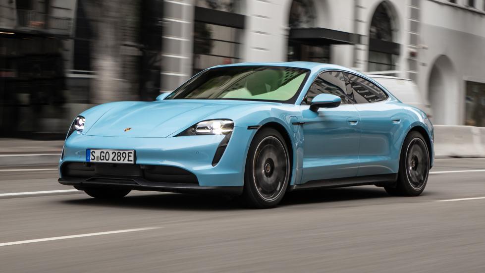 Xe sang của năm 2020 Porsche Taycan