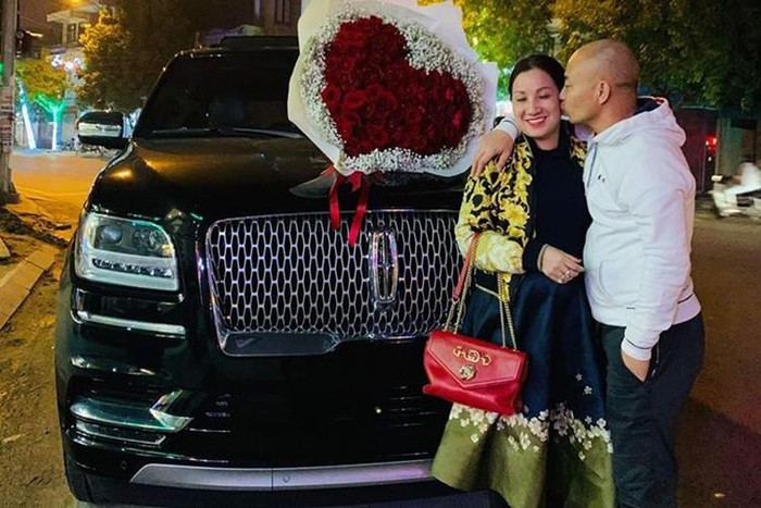 nữ đại gia Thái Bình mua xe