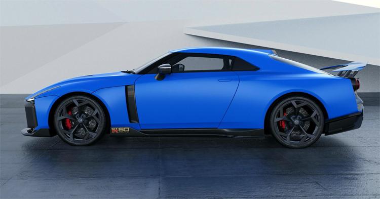 Siêu xe mới về Nissan GT-R50