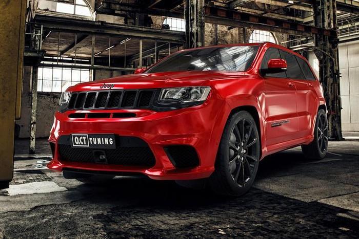 Jeep Trackhawk độ mạnh hơn siêu xe