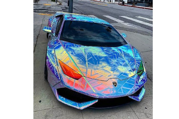 Lamborghini Huracan Liberty Walk độ đẹp của đại gia