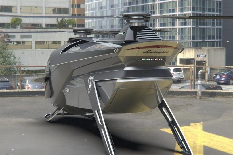 Trực thăng siêu sang nhà Lamborghini