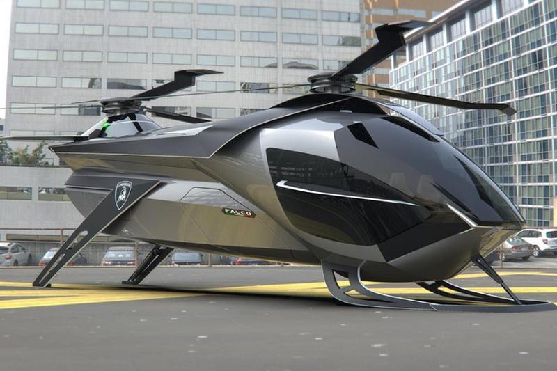 Siêu trực thăng Lamborghini