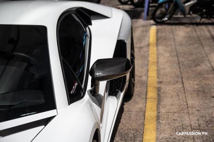 Gương siêu xe Lamborghini