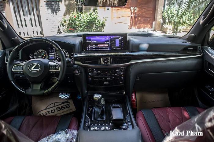Nội thất siêu xe Lexus LX570
