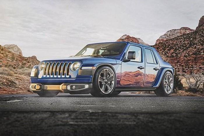 Xe Jeep cho đại gia