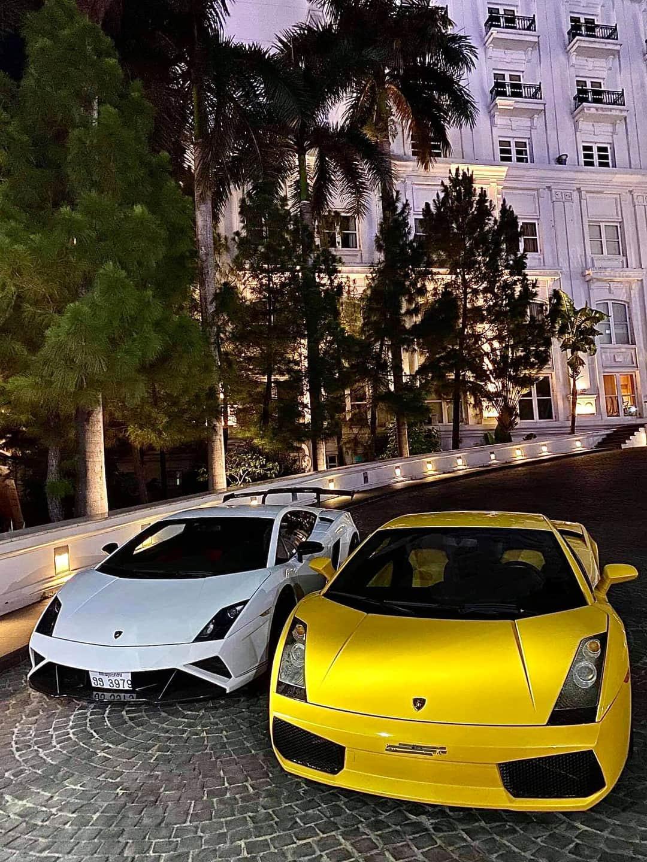 Cặp siêu xe đẹp