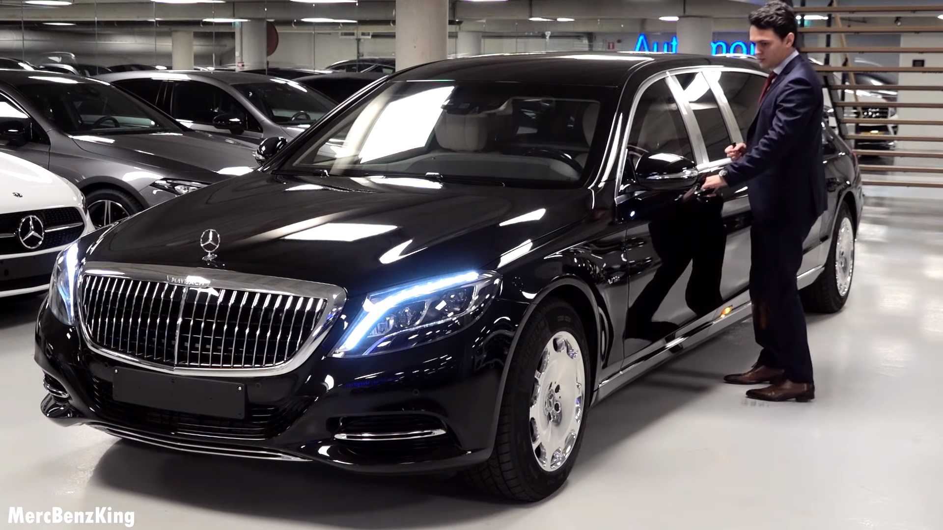 Xe Mercedes Maybach khủng