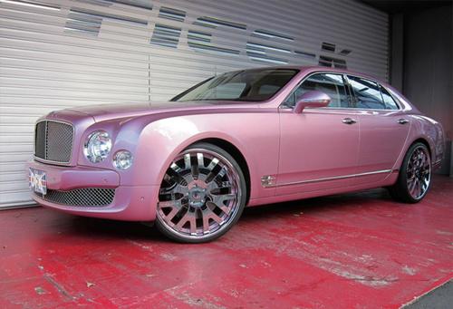 Top Siêu xe màu hồng