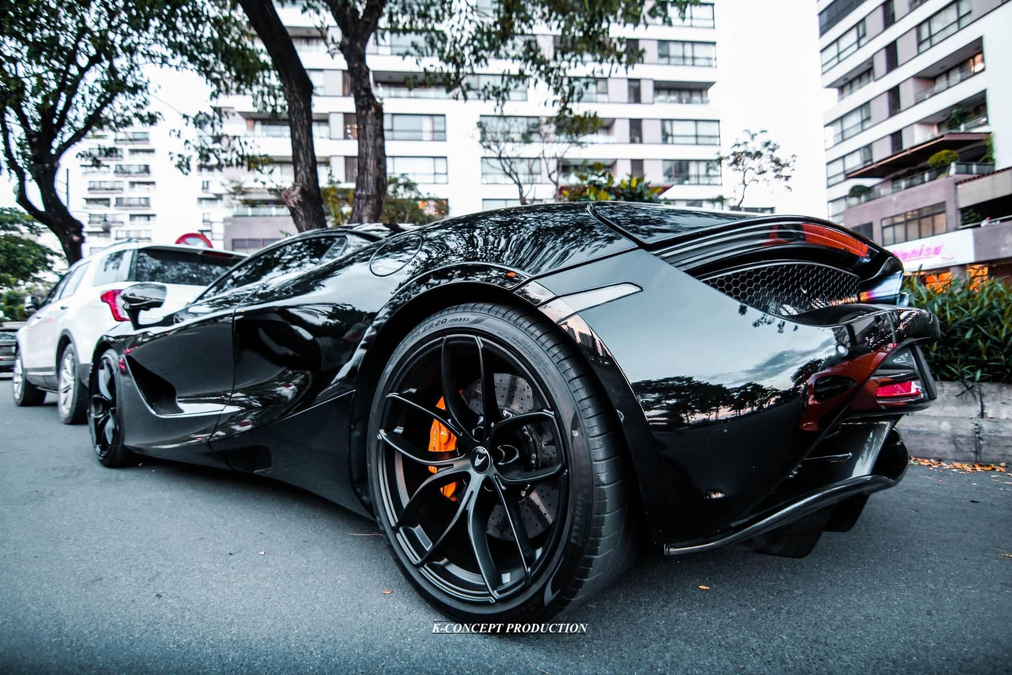 Siêu xe McLaren 720S Spider