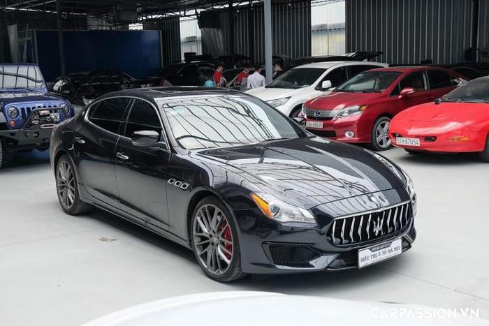 Siêu sedan hiếm Maserati Quattroporte S